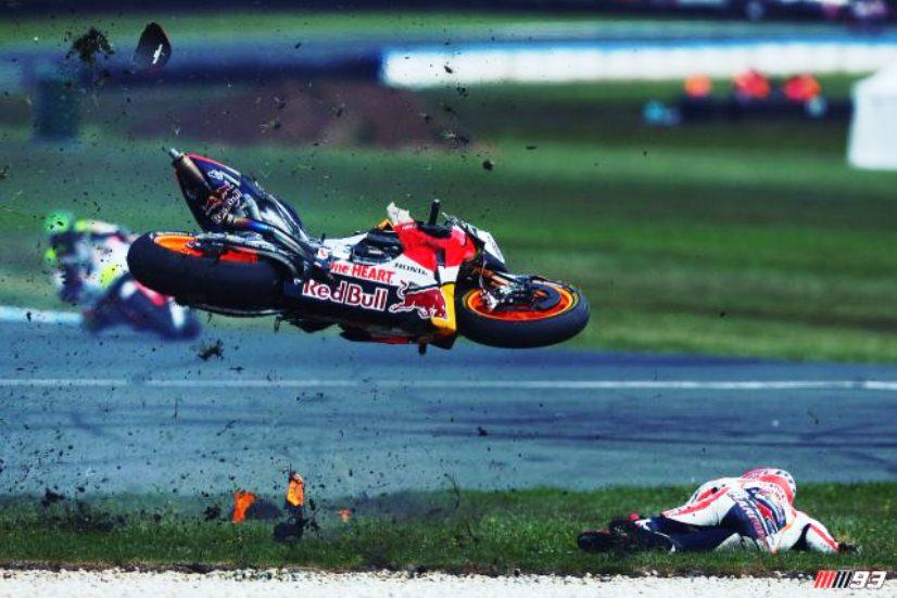 MotoGP : Ini tanggapan Marquez perihal crash yang dialaminya di Phillip Island kemarin