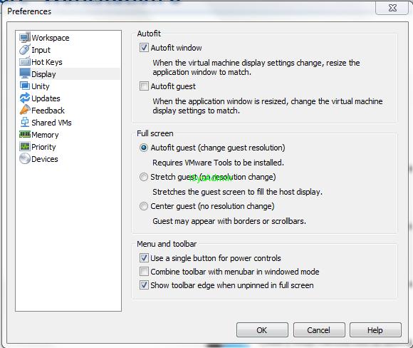 Блог бородатого сисадмина: Настройка VMware workstation