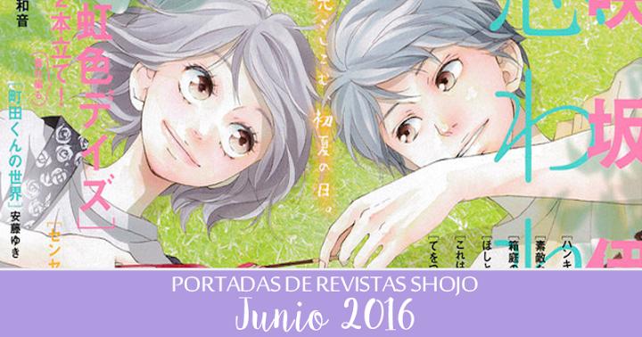 Portadas de Revistas Shojo: Junio 2016