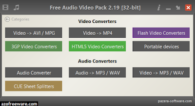 Free Audio Video Pack