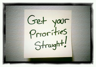 Get Your Priorities Right