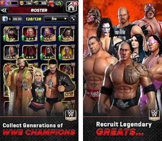 WWE Champions Mod Apk RPG Puzzle Battle for android