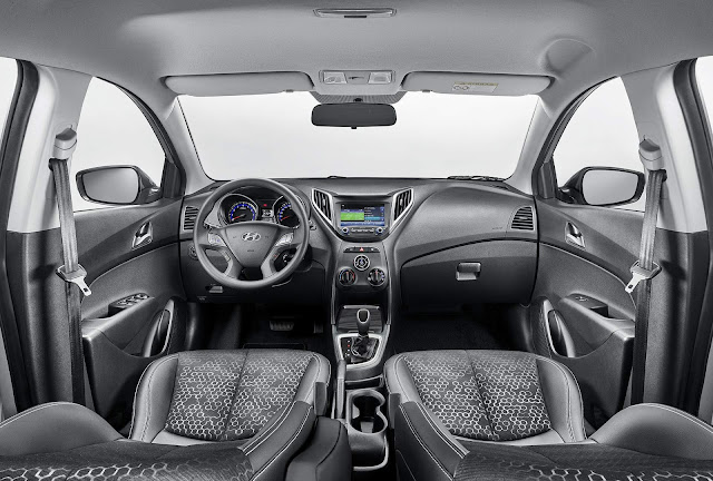 Hyundai HB20 2018 Copa do Mundo - Interior