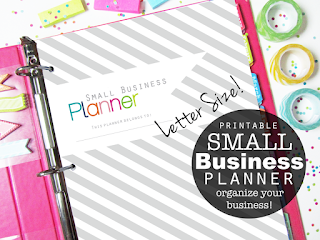 clean life and home business printables