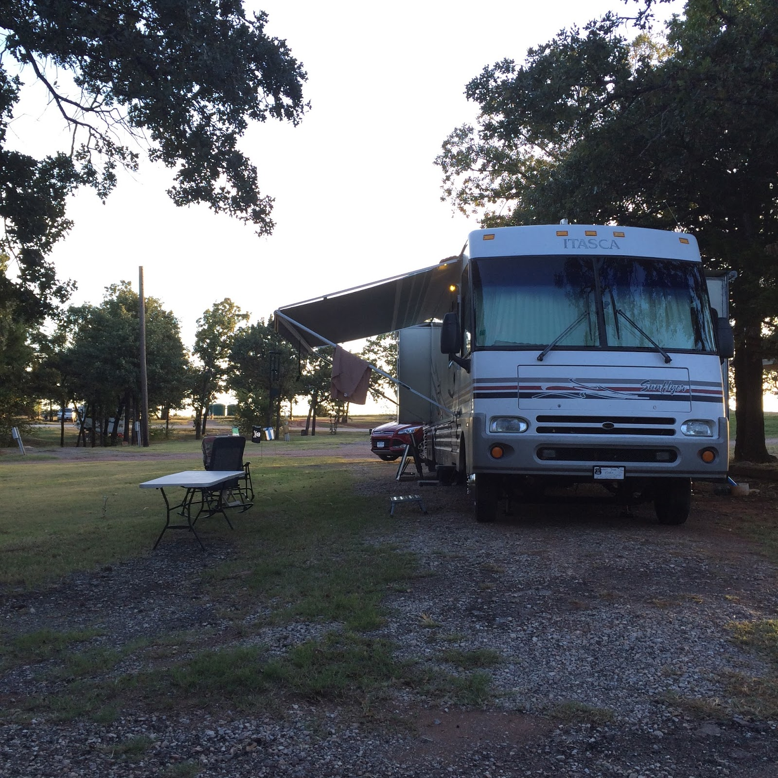 It Is A Combination RV Park And Mobile Home The Well Maintained Not So Much There Are Some Permanent Campsites But