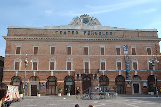 The 18th century Teatro Pergolesi in Jesi