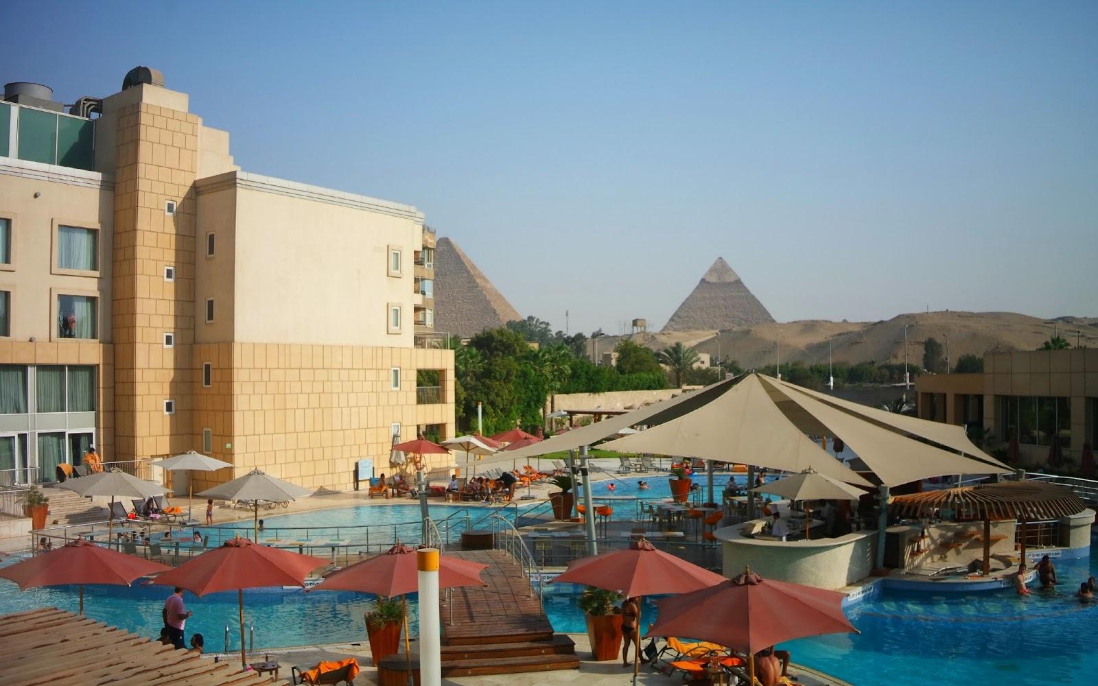 Como é se hospedar no Le Meridien Pyramids Hotel & Spa