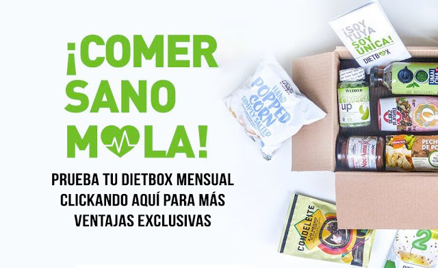Probando DietBox la caja mensual con productos saludables
