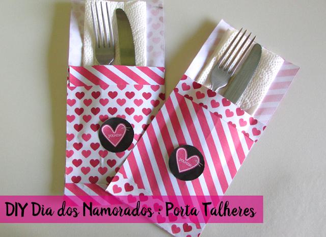 Vídeo: DIY Dia dos Namorados - Porta Talheres