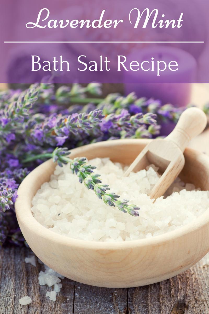Lavender Mint Bath Salt Recipe Everything Pretty