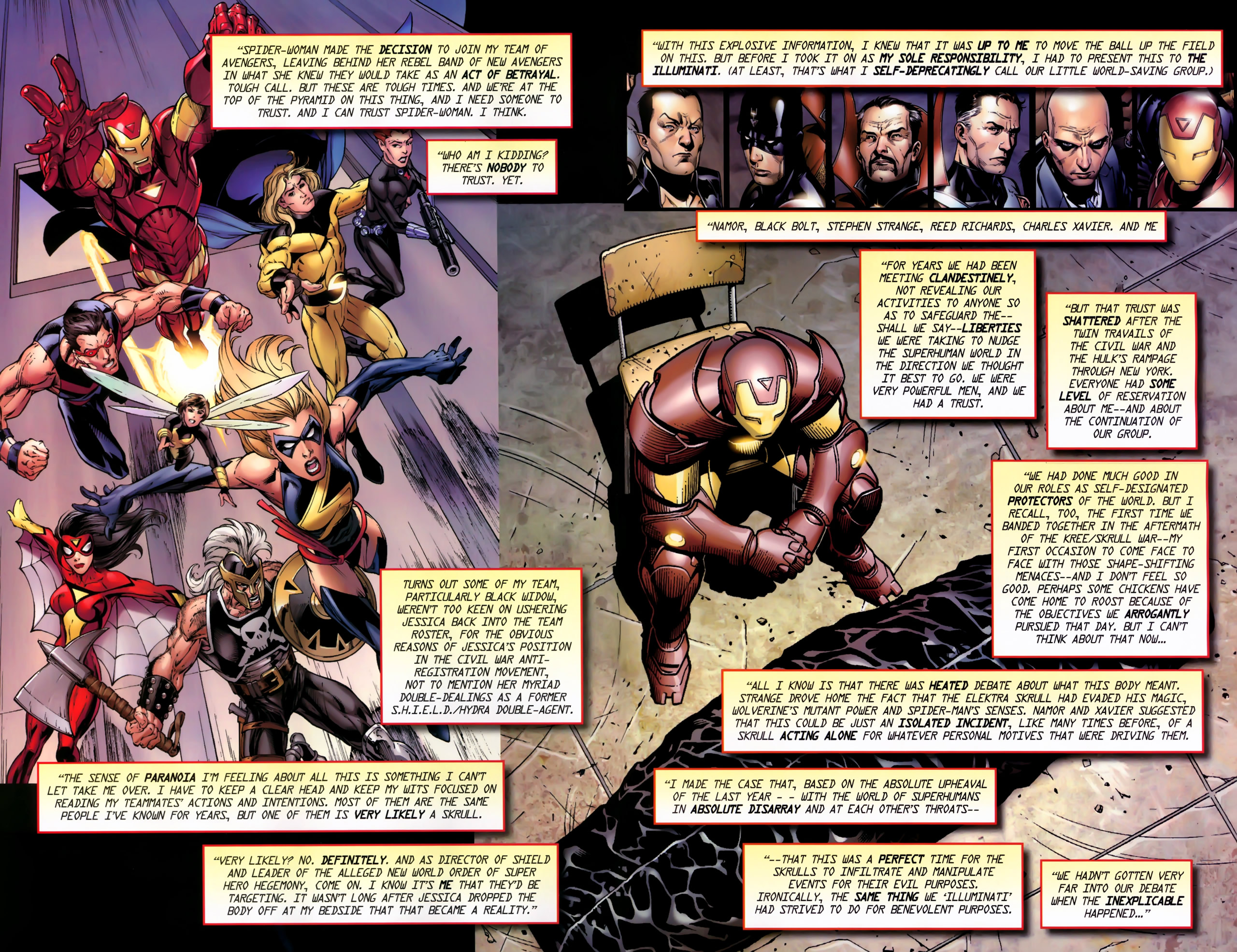 Read online Secret Invasion: The Infiltration comic -  Issue #11 - 6