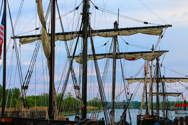 Tall Ship Nina and Pinta Wilmington Delaware