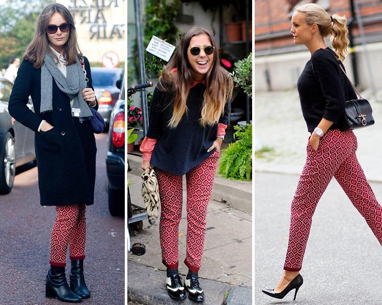 ajuste clásico disfruta del envío gratis zapatos casuales ZARA is the new black: Los pantalones de estampado ...