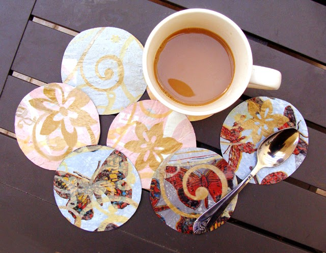 http://www.creativejewishmom.com/2009/11/fuse-plastic-bags-and-make-some-fabulous-coasters.html