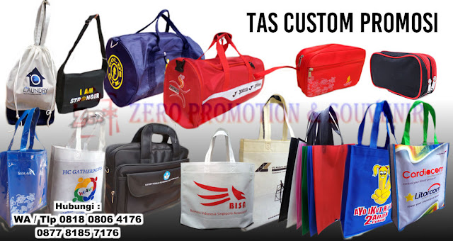 Backpack, Cosmetic Bag, Goddy Bag, Hand Bag, Pouch, Tas sekolah, Sport Bag, Tas Laptop dan seminar, Tas Lipat, Tas selempang, Travel bag, Trolley bag, Tas Goodie Bag