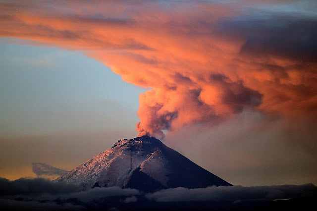Cotopaxi Volcano Eruption