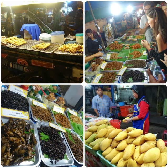 Thailand, Chiang Mai, walking street market, Thai food