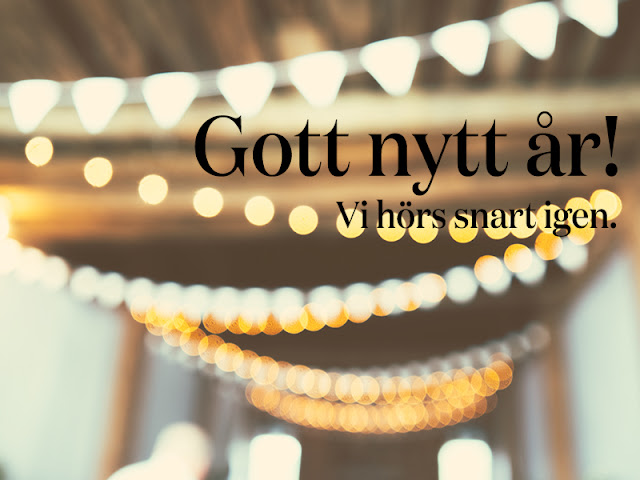 gott nytt år, julblogg, baby it's cold outside