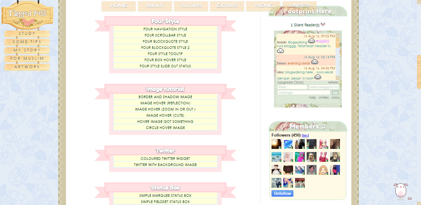 Tutorials Dari Blog Kawaii Lady