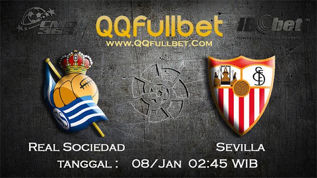 PREDIKSIBOLA - Prediksi Taruhan Bola Real Sociedad vs Sevilla 08 Januari 2017 (La Liga Spanyol)