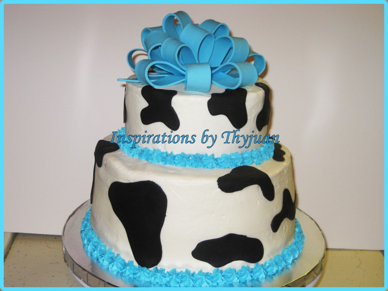 Cow Themed Baby Shower Cake Cupcakes Cookies