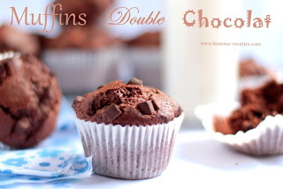 Double chocolate muffins, chocolate muffins, muffins, chocolate
