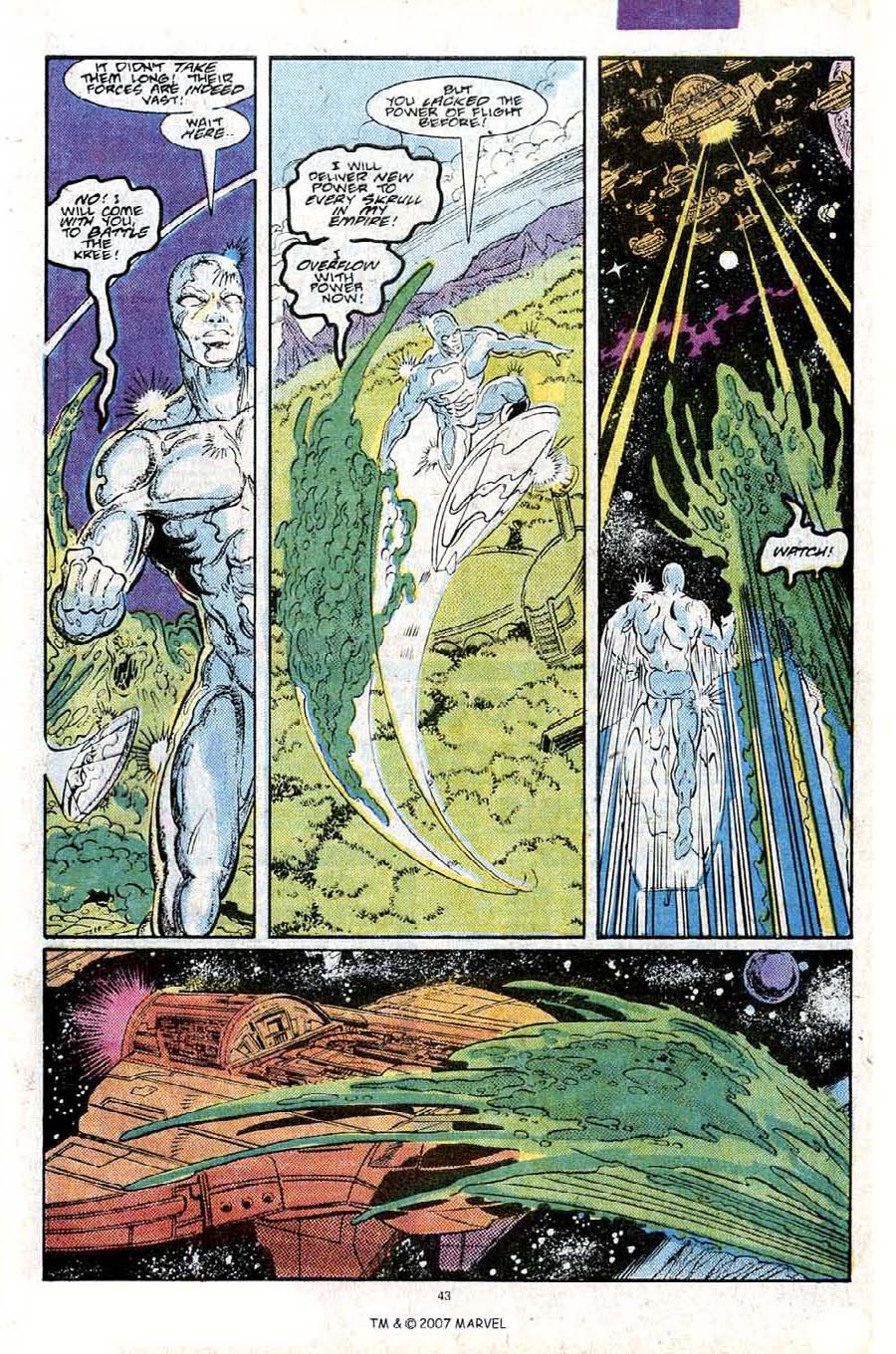Read online Silver Surfer (1987) comic -  Issue #25 - 45