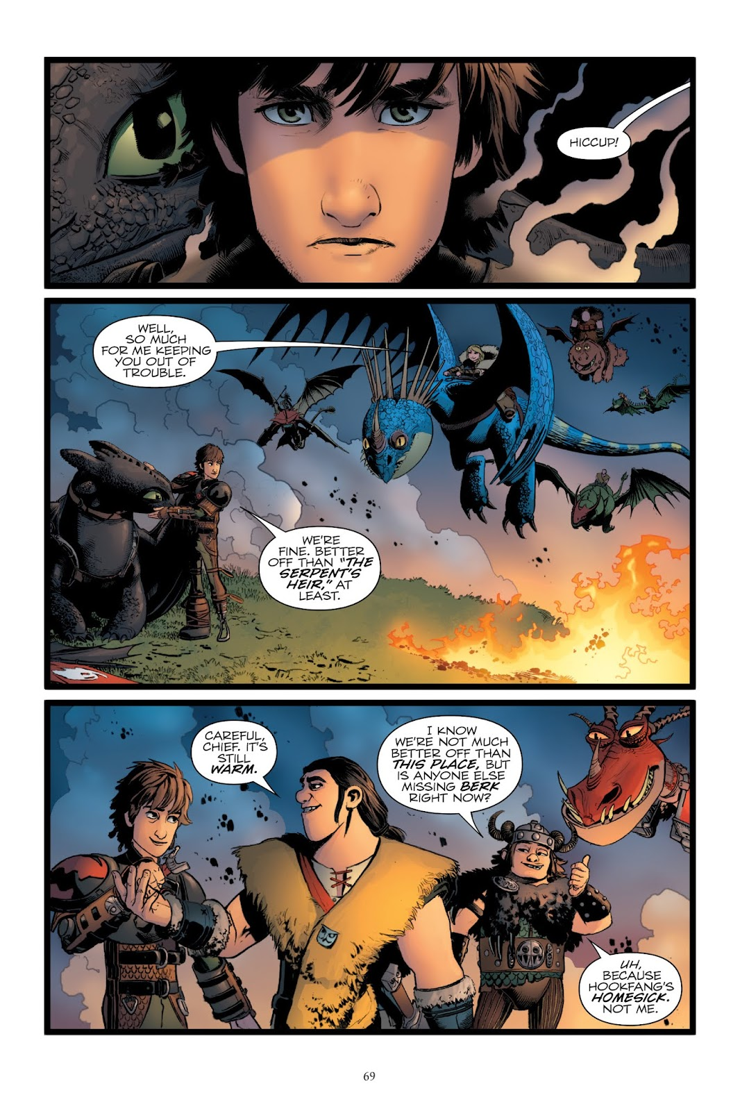 Read online How To Train Your Dragon: The Serpent's Heir comic -  Issue # TPB - 69