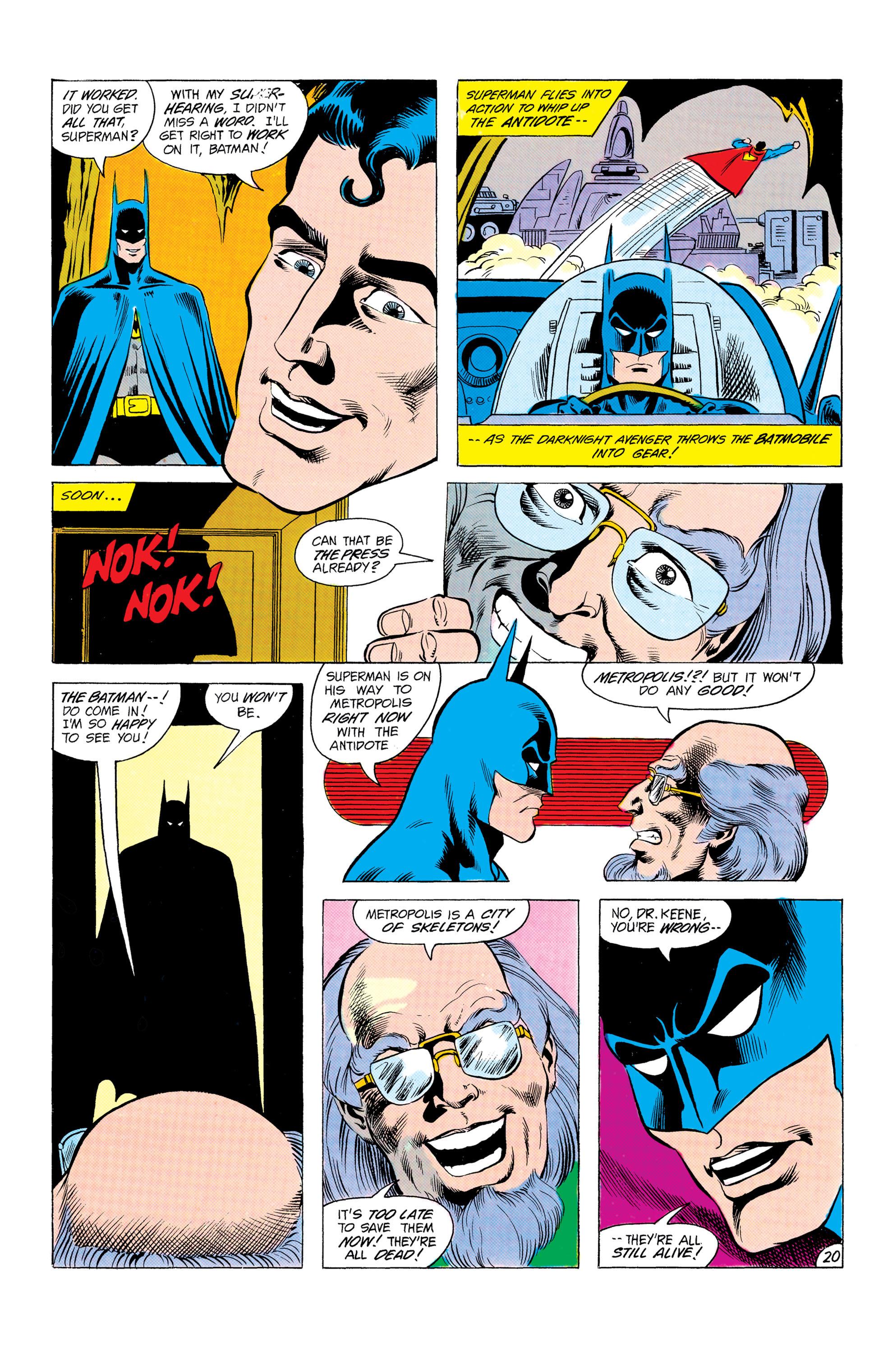 Read online World's Finest Comics comic -  Issue #303 - 21