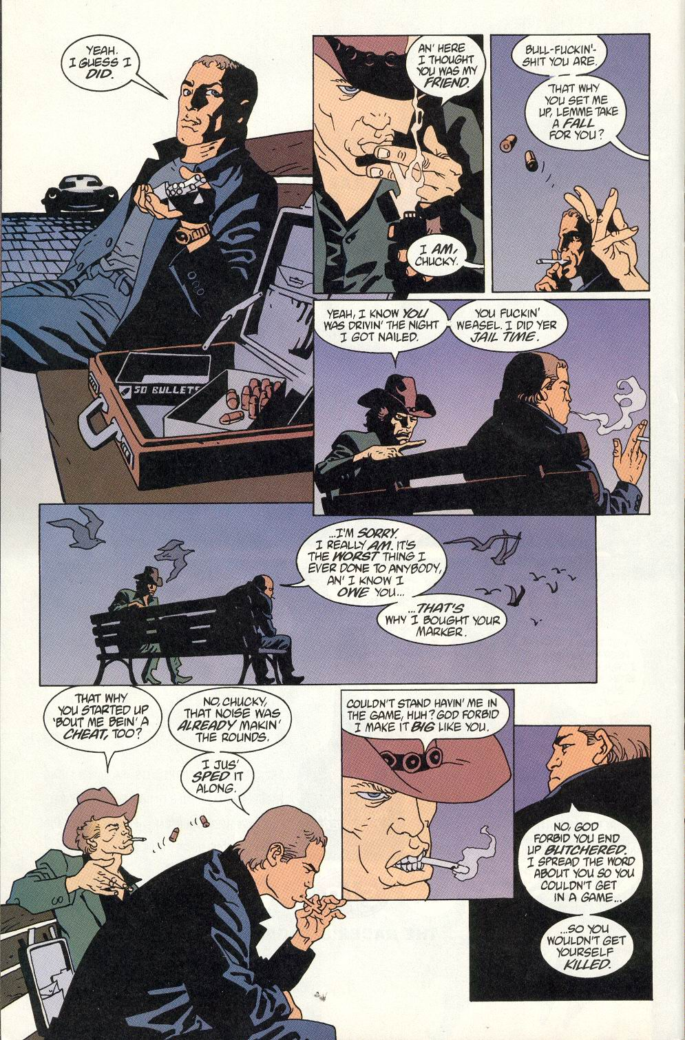 Read online 100 Bullets comic -  Issue #7 - 20