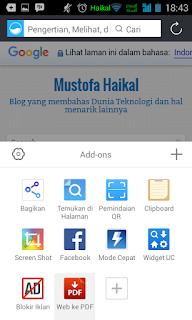 Cara Save atau Convert Halaman Web Menjadi File PDF Di Android