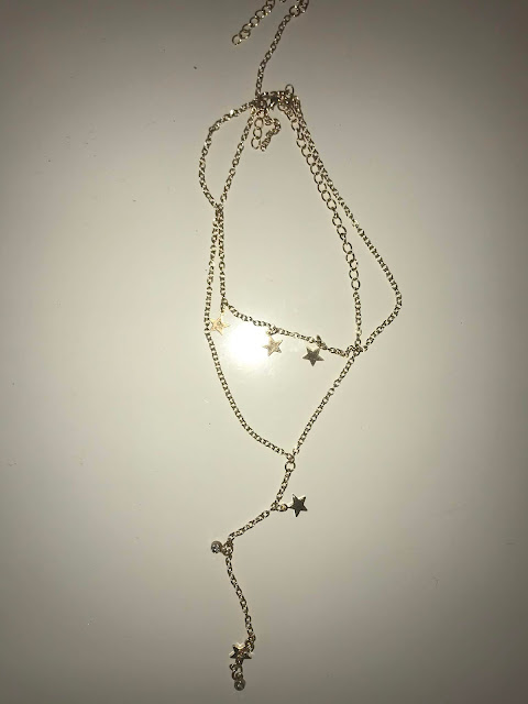 DIY Star and Gemstone/Birthstone Lariat Necklace
