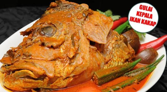 Gulai Kepala Ikan Kakap Merah