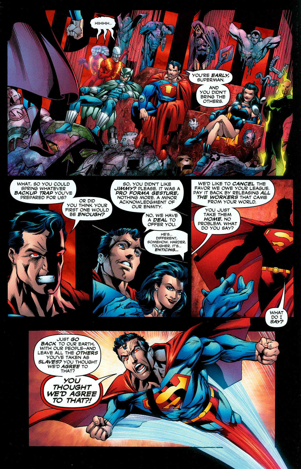 Read online Trinity (2008) comic -  Issue #12 - 5