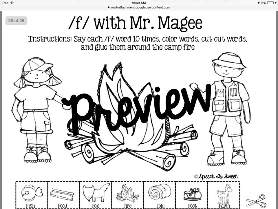 A Camping Spree With Mr Magee Activities For Toddlers