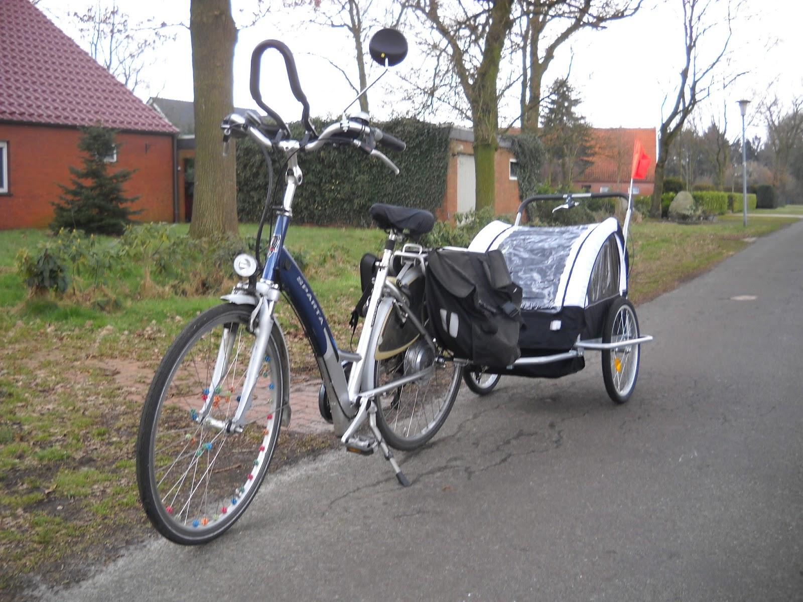 Verrassend Weg naar zelfvoorziening: Leuke aanschaf: een fietskar! EZ-66