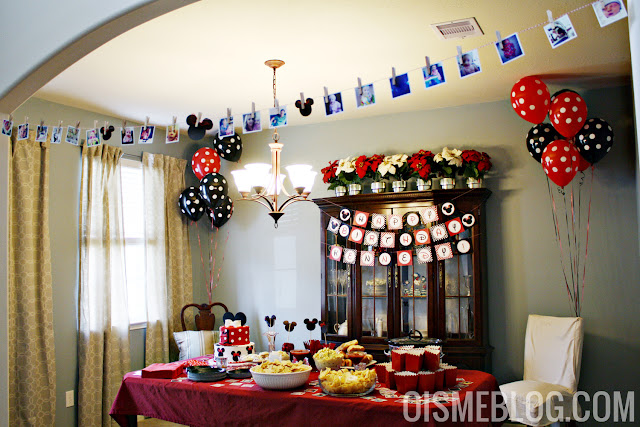 minnie mouse first birthday decor