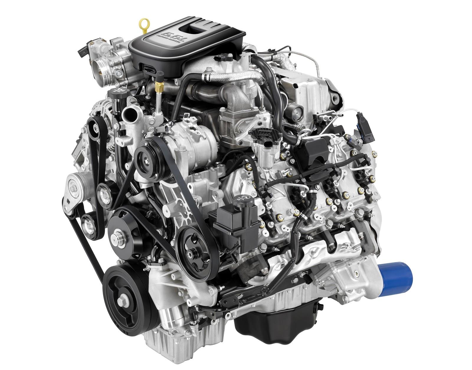 6,6 litres turbo diesel Duramax, le cap des 1,5 millions d ...