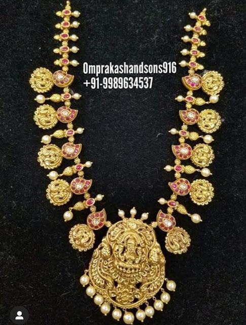 Lakshmi Peacock Haar by Omprakash