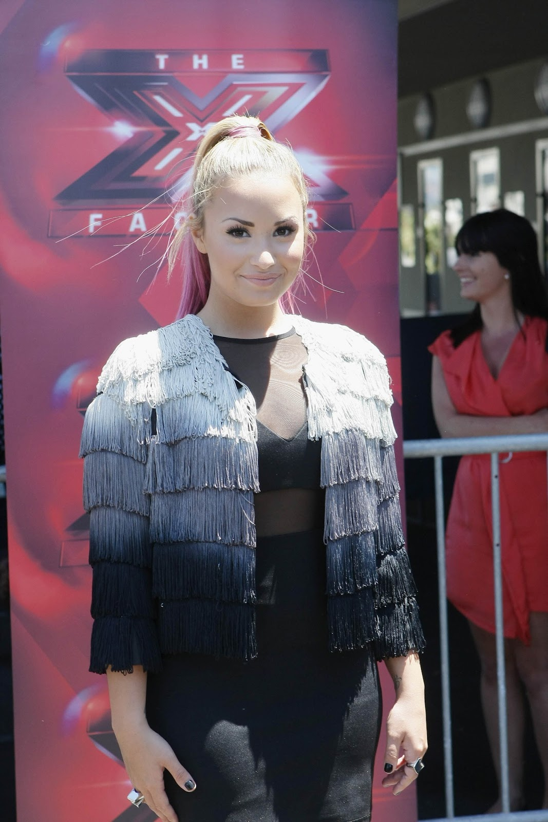 Demi Lovato The X Factor Season 2 Tryouts At The