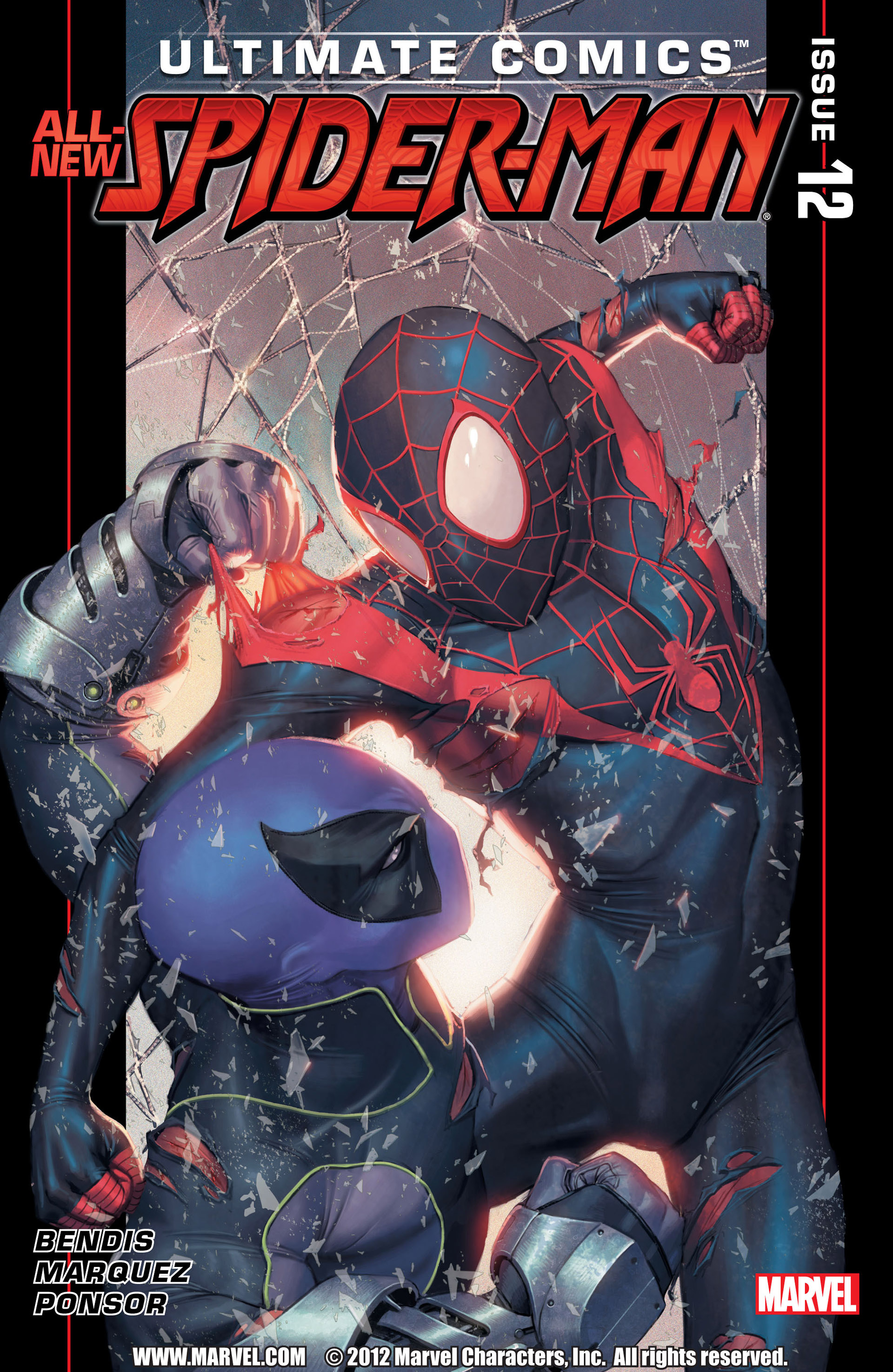 Read online Ultimate Comics Spider-Man (2011) comic -  Issue #12 - 1