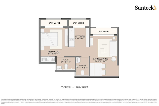 Sunteck West World Floor Plan