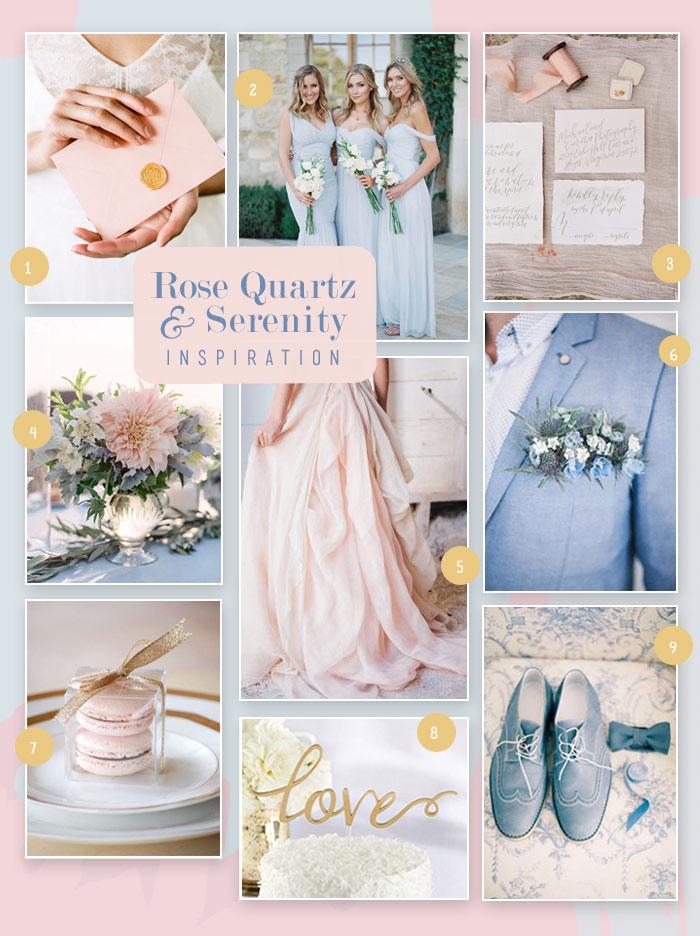 wedding bologna matrimonio pantone 2016 rose quartz blue serenity. Black Bedroom Furniture Sets. Home Design Ideas
