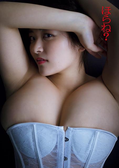 Yanase Saki 柳瀬早紀 Weekly Playboy April 2017 Images