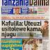 CCM yaifunika UKAWA uchaguzi Mdogo,Mabomu yatawala,Kafulila akosoa uteuzi wa wabunge,Zitto anasakwa na polisi,Soma Magazeti ya leo Jumatatu Jan 23,2016