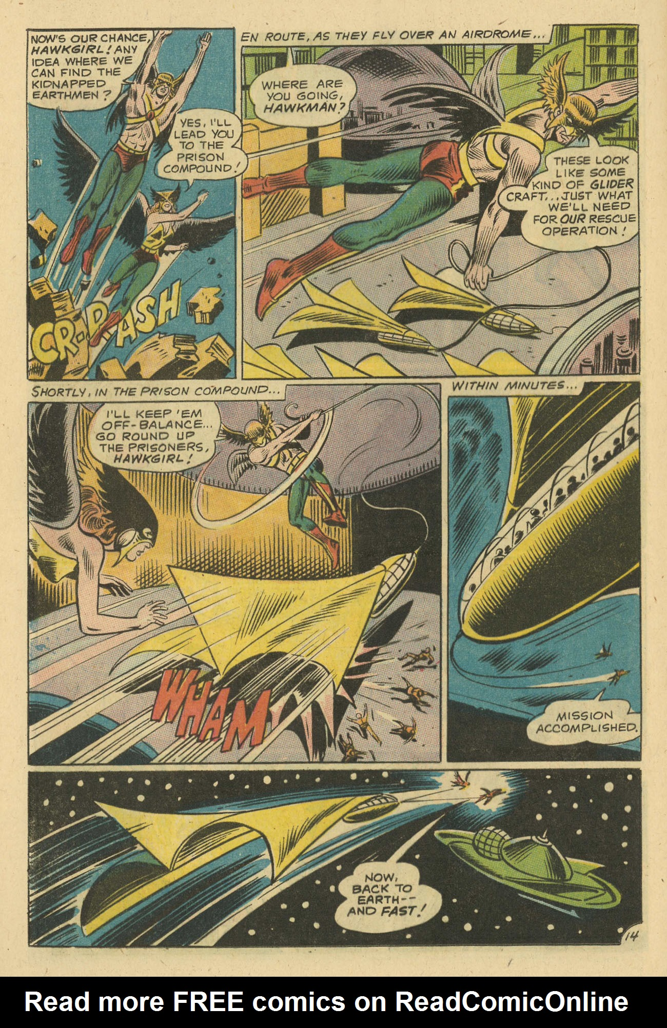 Hawkman (1964) issue 24 - Page 16