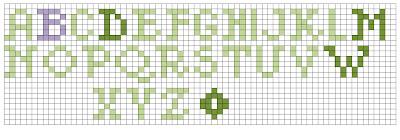 Knit Better Socks: Knitted Alphabet
