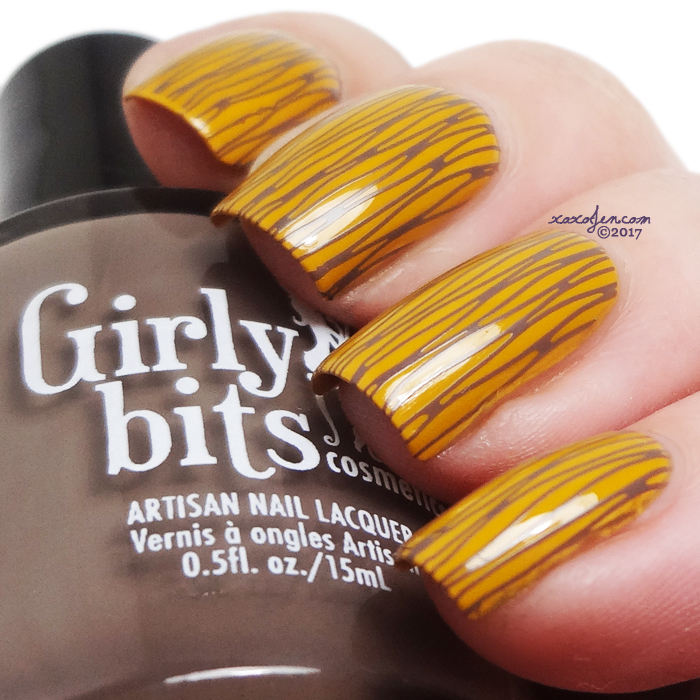 xoxoJen's swatch of Girly Bits Butternut Leave Me