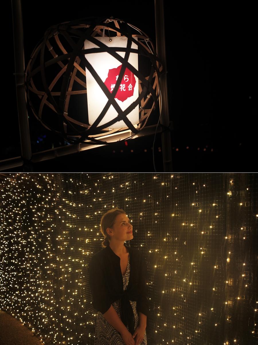 nara licht festival japan reise