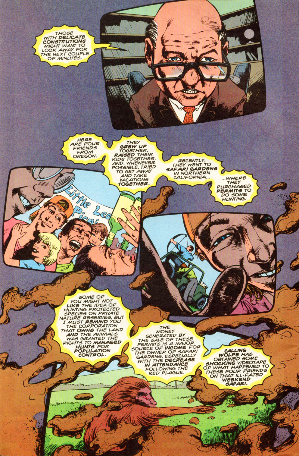 Read online Animal Man (1988) comic -  Issue #83 - 3